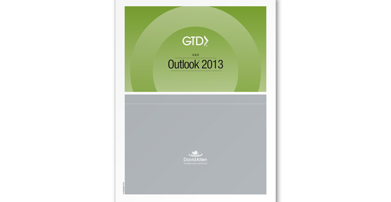 New Guide for Microsoft Outlook® 2013 GTDers!