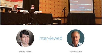 Listen to GTD's David Allen with BBC's David Allan at SXSW