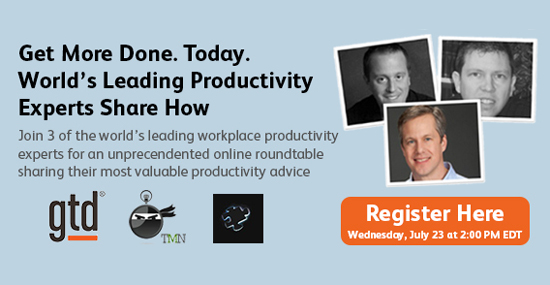 Catch CEO Mike Williams Talking Productivity on July 23 (Free!)