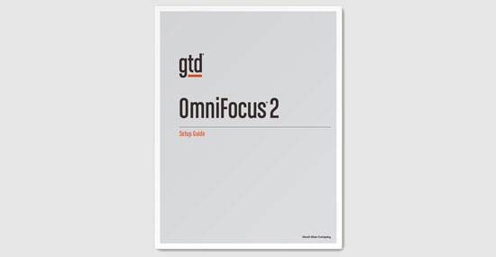 New OmniFocus 2 Setup Guide