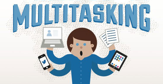 Multitasking Lowers Your IQ