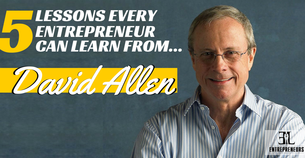 David Allen featured in The Entrepreneurs Library