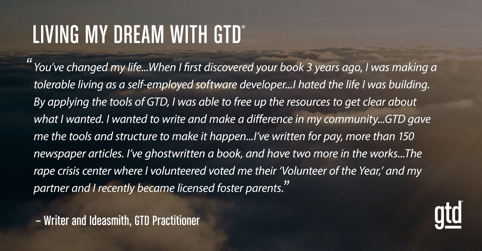 Living My Dream with GTD