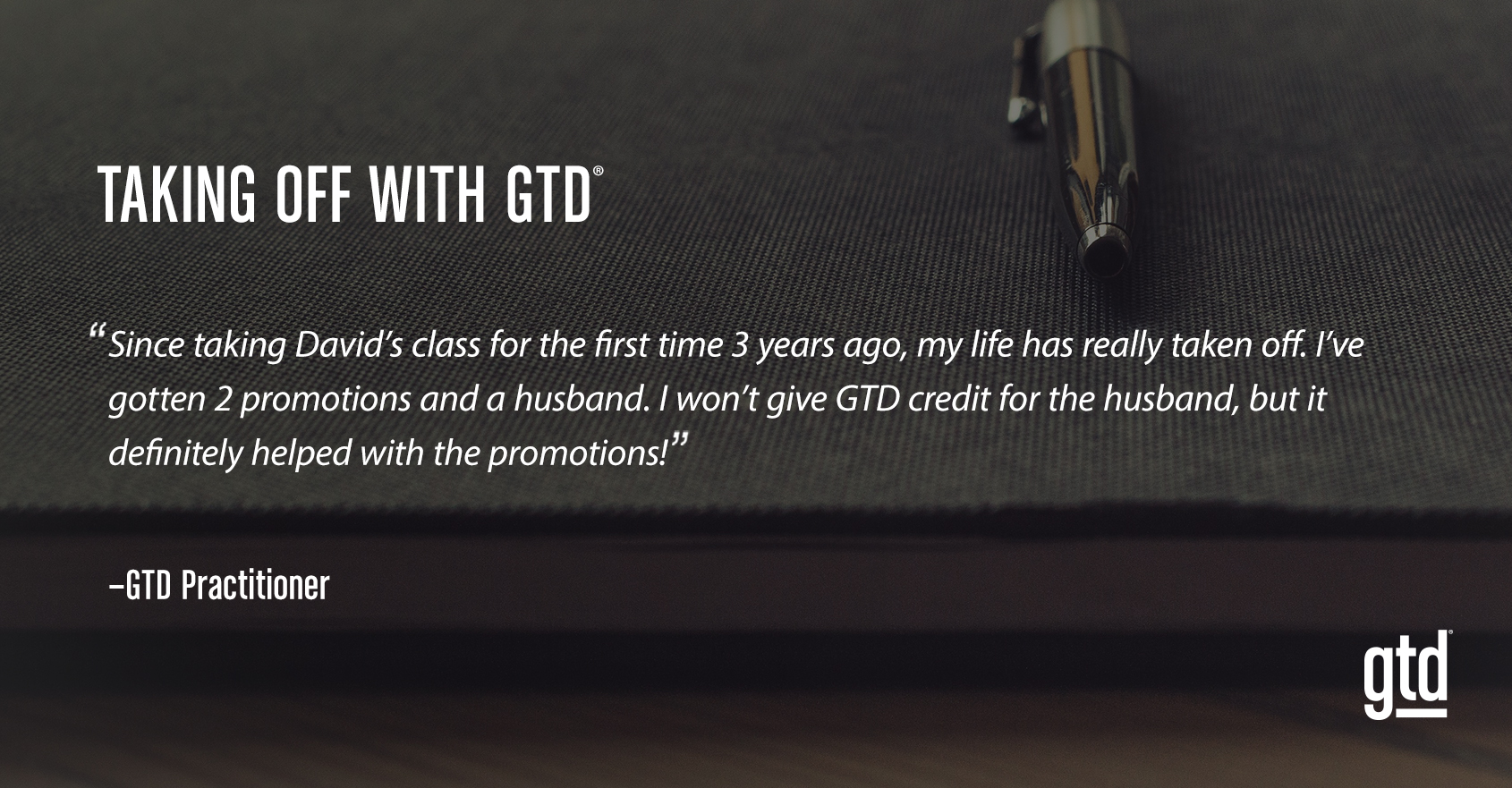 Taking Off with GTD