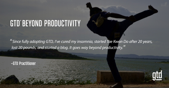 GTD Beyond Productivity