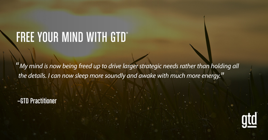 Free Your Mind with GTD