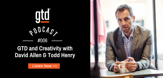 Podcast 06 – GTD and Creativity