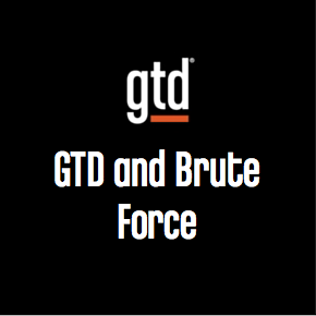 Podcast #4 – GTD and Brute Force