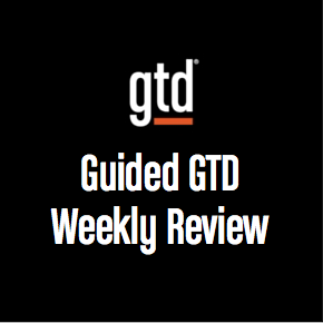 Podcast #7 – Guided GTD Weekly Review