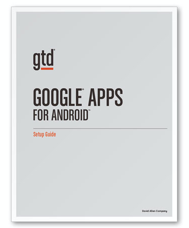 New GTD Guide for Android now available