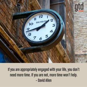 Are you appropriately engaged?