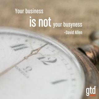 Business or Busyness?