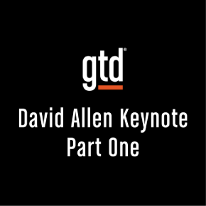 Episode #29 – David Allen GTD® Keynote in Milan – Part One
