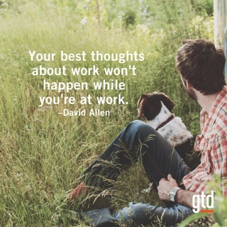 Your best thoughts about work…