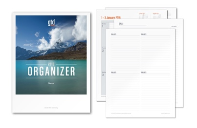 2018 GTD Organizer and GTD Organizer are now available!