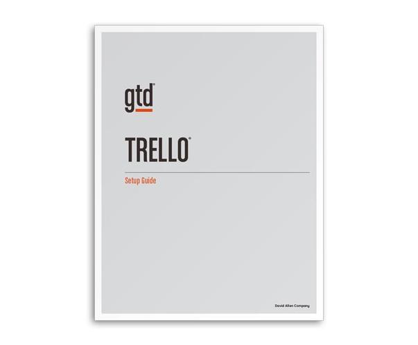New! GTD & Trello Setup Guide