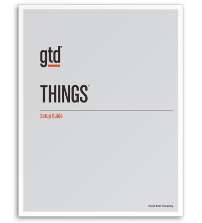 GTD & Things Setup Guide