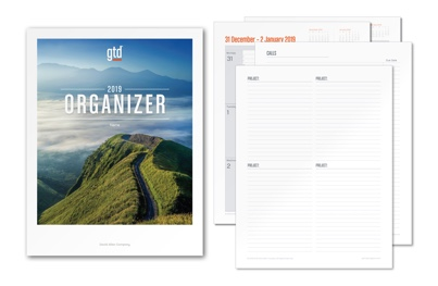 The 2019 GTD® Organizer is now available