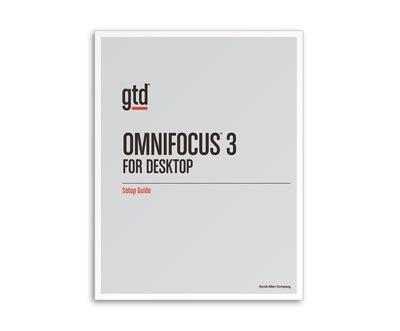 GTD & OmniFocus 3