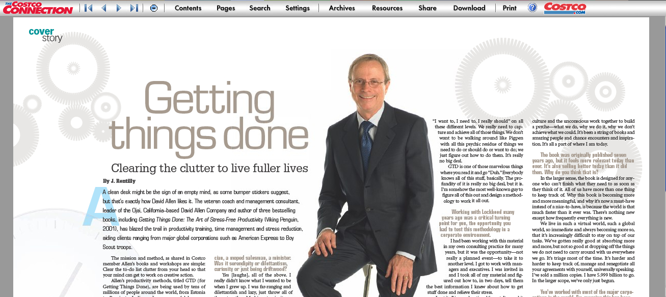 Getting Things Done® | Costco Meets David Allen: Nearly Six ...